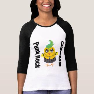 Punk Rock Chick Tee Shirt