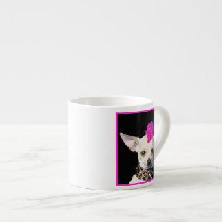 Punk Rock Chihuahua Espresso Mug