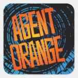 Punk rock del patín de los pegatinas de Agent Oran