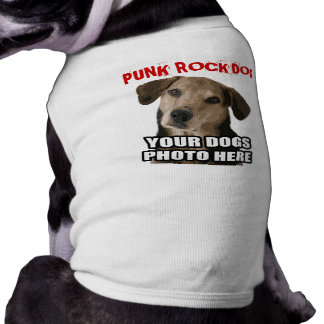 PUNK ROCK DOG (with your dogs photo) Shirt