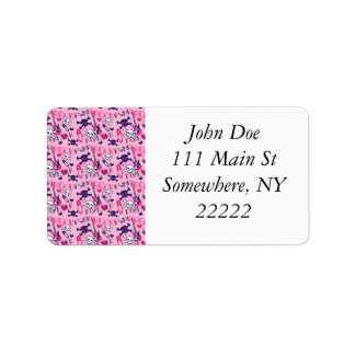 Punk Rock Forever Personalized Address Label