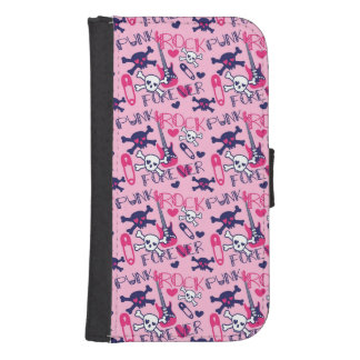 Punk Rock Forever Galaxy S4 Wallet