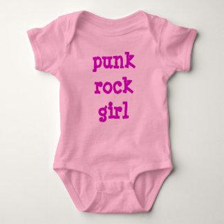 Punk Rock Girl Baby Bodysuit