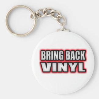 PUNK ROCK girls guys punk music Basic Round Button Keychain