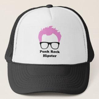 Punk Rock Hipster Trucker Hat