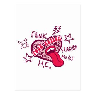 Punk Rock Kids Post Card