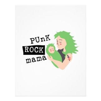 Punk Rock Mama Custom Letterhead