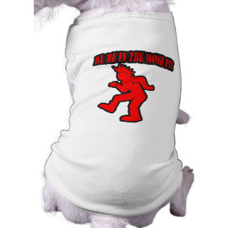 Punk Rock Mosh pit moshing slam dance Dog Tshirt