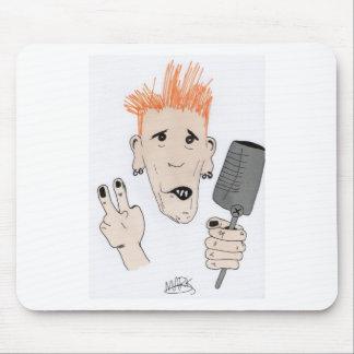 Punk Rock Mouse Pad