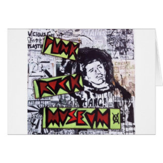 Punk Rock Museum by Sludge Greeting Card