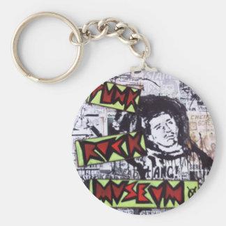Punk Rock Museum by Sludge Key Chain