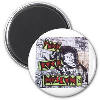 Punk Rock Museum by Sludge Fridge Magnets