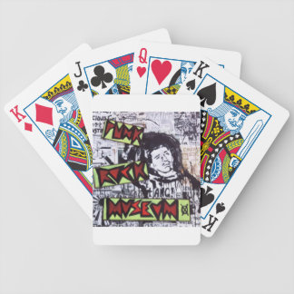 Punk Rock Museum by Sludge Bicycle Card Deck