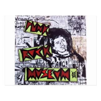 Punk Rock Museum by Sludge Postcard