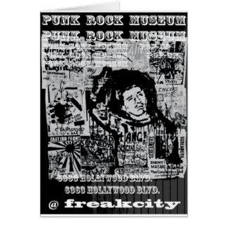Punk Rock Museum @ Freak City Card