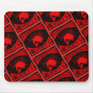 punk rock music mouse pad
