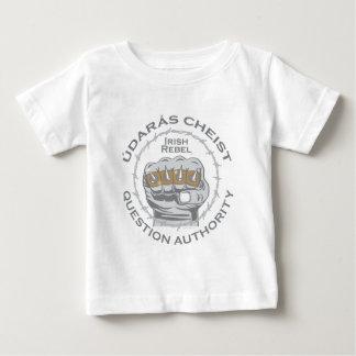 Punk Rock or Irish Punker Question Authority Baby T-Shirt