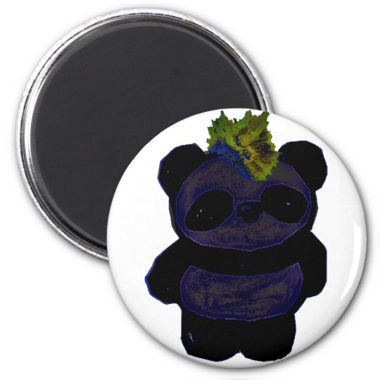 Punk Rock Panda 2 Magnet