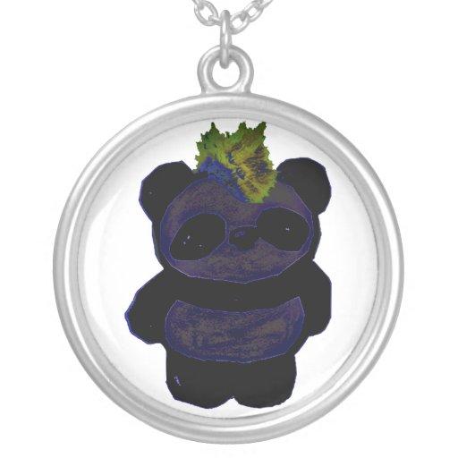 Punk Rock Panda 2 Necklace