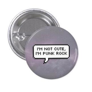 Punk Rock Pinback Button