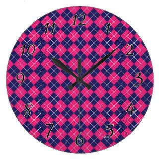 Punk Rock Preppy Clocks