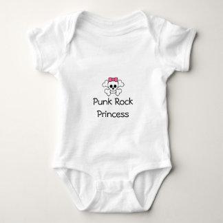 Punk Rock Princess Baby Bodysuit