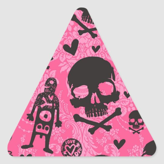 Punk Rock Products Triangle Sticker