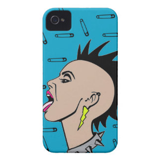 Punk Rock Sista Case-Mate iPhone 4 Case