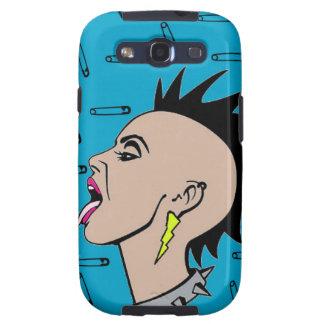 Punk rock Sista Samsung Galaxy S3 Carcasa