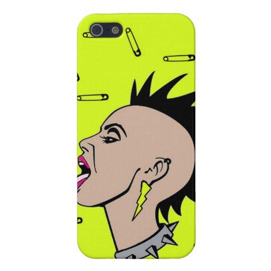 Punk rock Sista iPhone 5 Carcasas