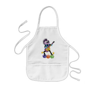 Punk Rock Skull Kids' Apron