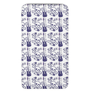 Punk Rock Skulls with Guitars Galaxy S5 Pouch