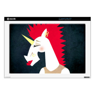 Punk Rock Unicorn Decals For Laptops