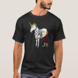 Punk Rock Unicorn T Shirt