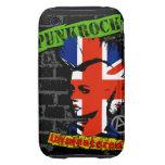 Punk rock - union jack Mohawk iPhone 3 Tough Covers