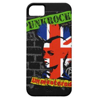 Punk rock - union jack Mohawk iPhone SE/5/5s Case
