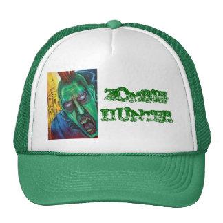 Punk Rock Zombie Trucker Hat