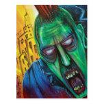 Punk Rock Zombie Postcards