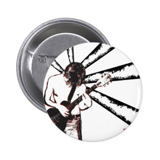 Punk Rocker Pinback Button