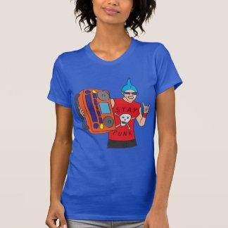 Punk Rocker with Boombox T-Shirt