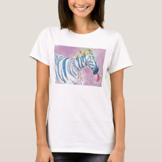 Punk Rocker Zebra T-Shirt