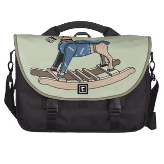 Punk Rocking Horse Bag For Laptop