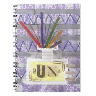Punk Room Diffuser Notebook