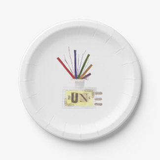 Punk Room Diffuser Paper Plate