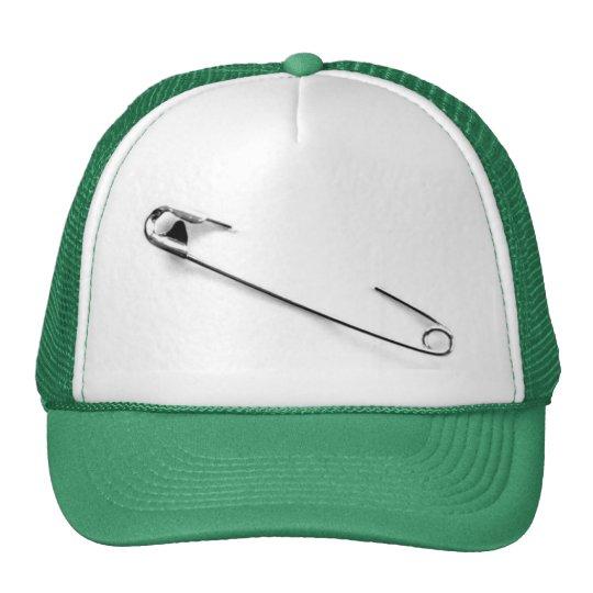Punk Safety Pin cap Trucker Hat