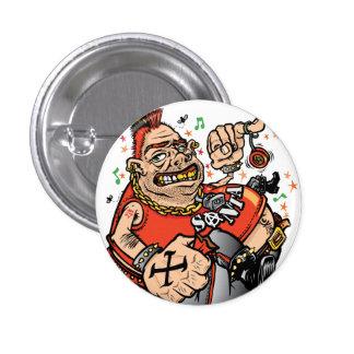Punk Santa Button