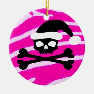 Punk Santa Skull Ornaments