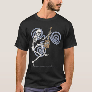 Punk Skeleton Guitarist T-Shirt
