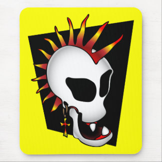 PUNK SKULL-2 MOUSE PAD