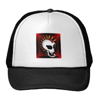 PUNK SKULL-3 MESH HATS